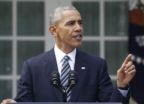 Barack Obama habló de la derrota demócrata en las elecciones desde la Casa Blanca.