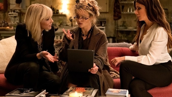 Cate Blanchet, Helena Bonham Carter y Sandra Bullock en filme sin dinamismo. Foto: Warner
