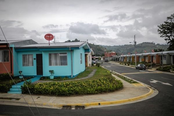 El proyecto Orokay II, en Orosi de Cartago, dio casa a 480 personas. La GAM es uno de los lugares donde más faltan proyectos. | GABRIELA TÉLLEZ.