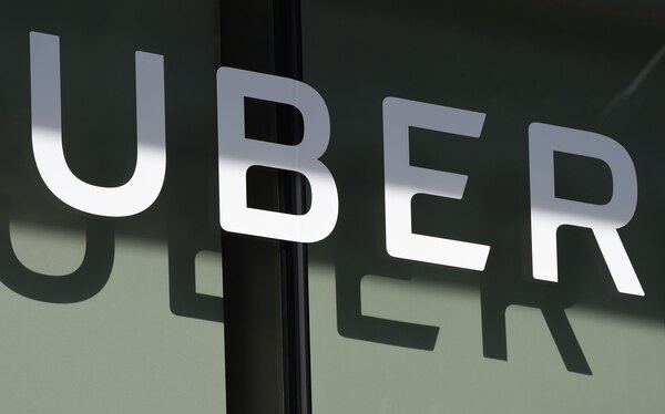 Cuartel general de Uber en San Francisco, California. AFP PHOTO / Robyn Beck
