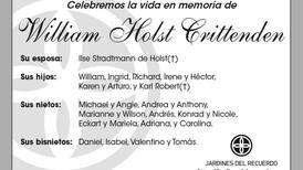 William Holst Crittenden