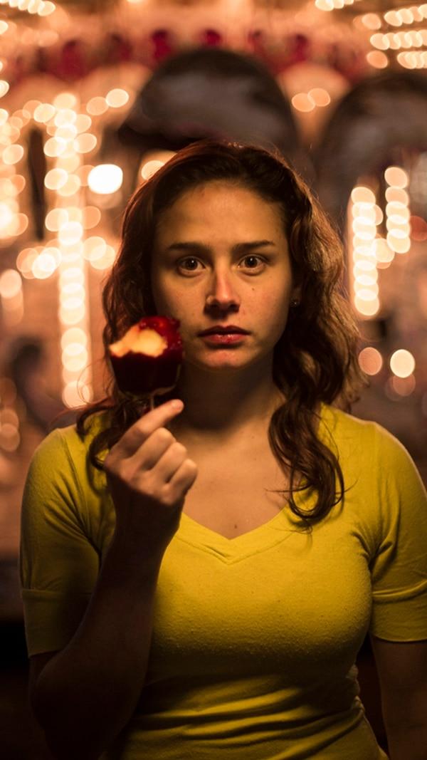 Liliana Biamonte es la protagonista del cortometraje Irene.