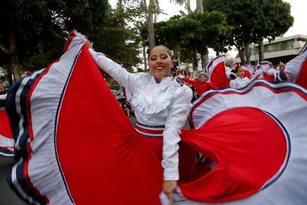 En marzo del 2019, el Festival Nacional de las Artes estuvo en Orotina; la inauguración tuvo un pasacalles a cargo de la Banda Municipal de Orotina. Este 2020, la fiesta artística sería en abril, pero fue suspendido debido a la emergencia por el nuevo coronavirus. Foto: Mayela López