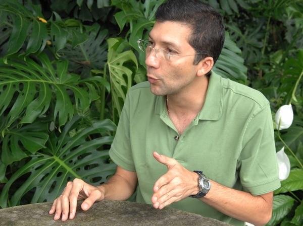 Édgar Silva | SE HA DESEMPEÑADO COMO PERIODISTA Y PRESENTADOR DE TELETICA EN VARIOS ESPACIOS DEL CANAL. FOTO: ARCHIVO.