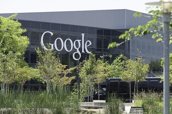 Esta es una foto de este viernes la sede de Google en Mountain View, California.