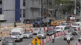 Cuatro vías cercanas a rotonda de la Bandera permanecerán cerradas por dos meses