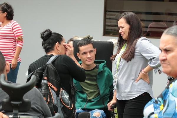 19 de agosto del 2019. Consejo Nacional de Personas con Discapacidad, en Barreal de Heredia, participa en el simulacro nacional de terremoto. Foto: Alonso Tenorio