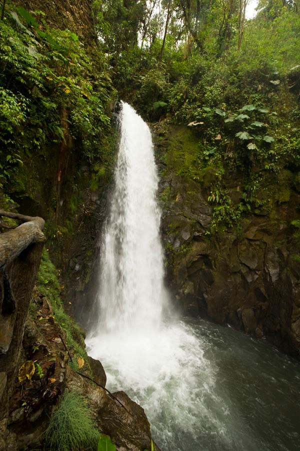 El Templo es la cascada que se puede apreciar más cercanamente en La Paz. | GRACIELA SOLÍS