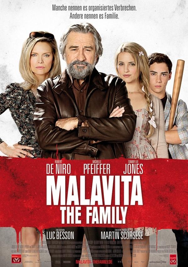 Nuevo comienzo. Pfeiffer y De Niro son jefes de familia que tratan de dejar atrás su pasado. Romaly para LN