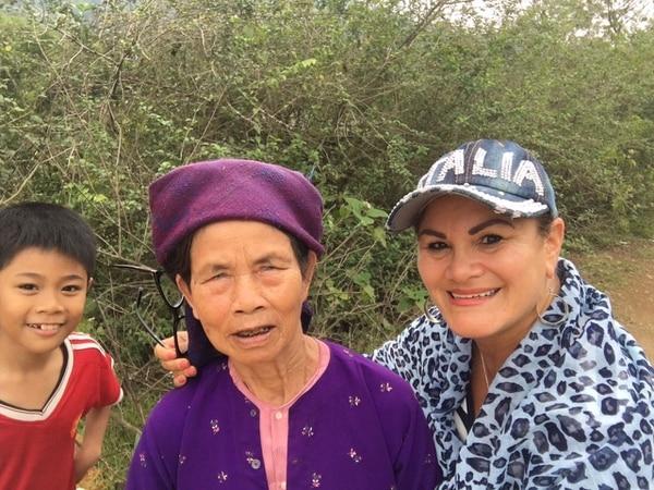 Claudia Alfaro asegura que los vietnamitas son personas muy amables.