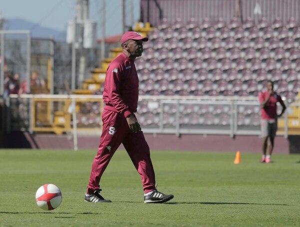 Carlos Watson, entrenador de Saprissa.