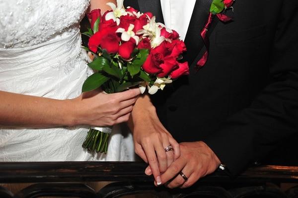 La mayoría de los matrimonios celebrados un 14 de febrero (562) se efectuaron en el 2009, cuando la fecha cayó sábado.   RAFAEL PACHECO