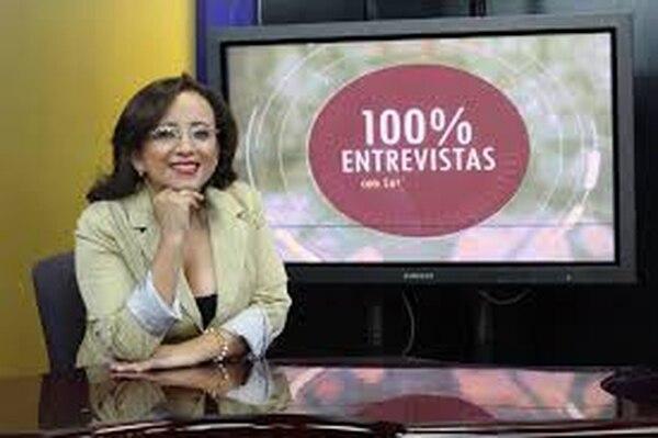 Lucía Pineda, periodista costarricense-nicaragüense.