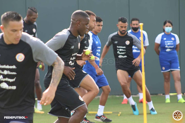 Entrenamiento selección en Orlando, Copa de Oro
