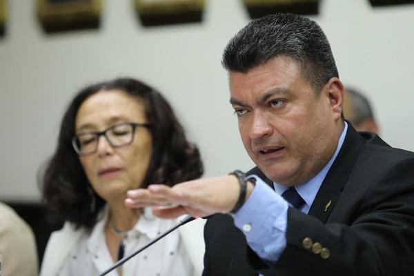 Patricia Mora, del Frente Amplio, y Ronny Monge, del PLN, dirigen la Comisión Investigadora de los Créditos Bancarios.