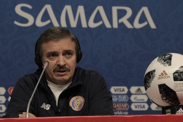 Óscar Ramírez se despidió del Mundial de Rusia con un empate y dos derrotas.