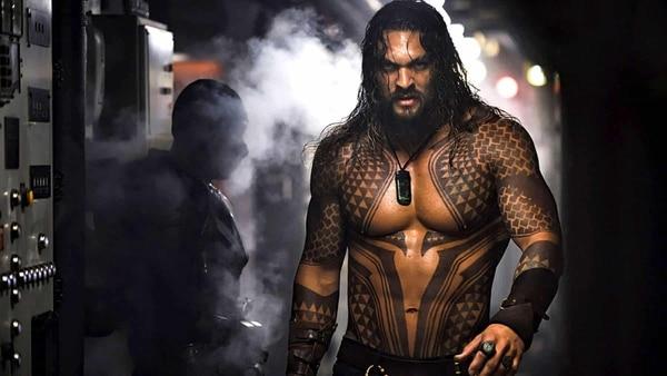 Jason Momoa encarna a Aquaman, en la nueva película de DC Comics. Rola para LN