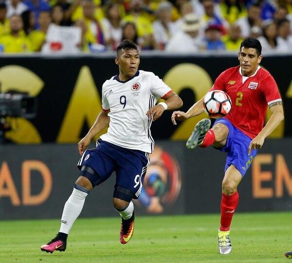 Johnny Acosta es el futbolista más regular de la 'Sele' en esta eliminatoria rumbo a Rusia 2018.