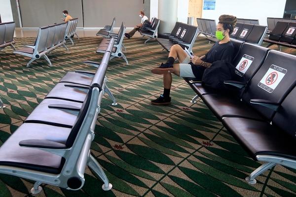 En las Salas de abordaje hay sillas de espera