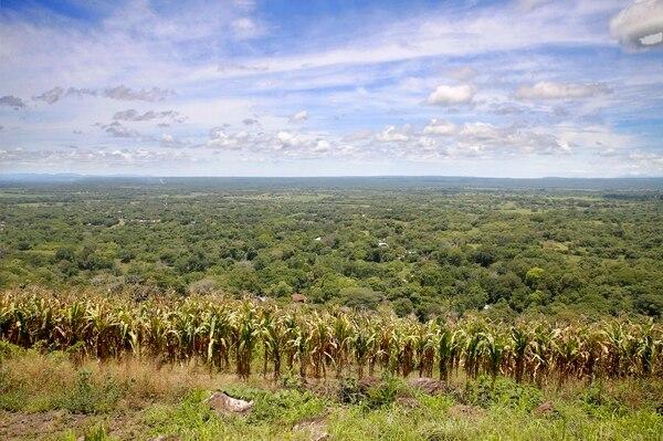 La Mierda cuenta con diferentes miradores, donde se puede apreciar Liberia. Foto: Albert Marín.