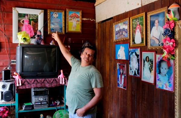 El nicaragüense Gilberto Castillo está pensionado desde el año pasado. Foto: Agencia AFP