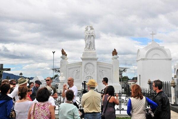 El objetivo del proyecto es convertir al Cementerio General en un punto de atracción turística de la capital. Archivo/Juliana Barquero