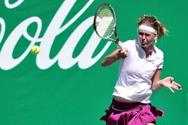 La checa Marie Bouzkova avanzó a los cuartos de final.
