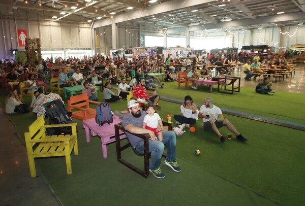 El Centro de Eventos de Parque Viva se acondicionará con todas las comodidas para los comensales. Fotografía: John Durán.
