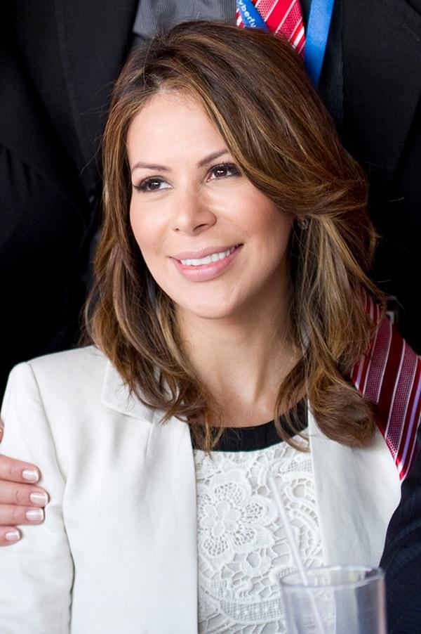 Ileana Alfaro asiste a algunas actividades partidarias, pero no forma parte de la campaña. | FOTO: JEANNINA CORDERO