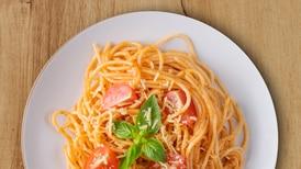 Spaguetti de alverja con proteína vegetal