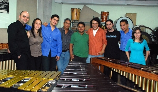 el Festival Internacional de Ensambles de Percusión ha llegado a zonas como Siquirres. Archivo.En años anteriores,