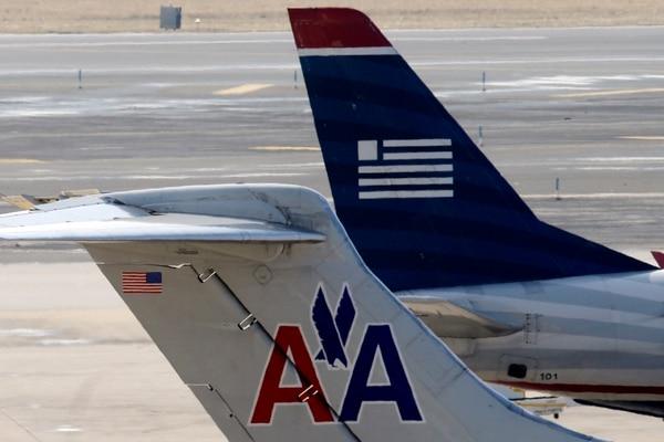 Las aerolíneas AMR, casa matriz de American Airlines, y US Airways anunciaron su fusión a inicios de este año.