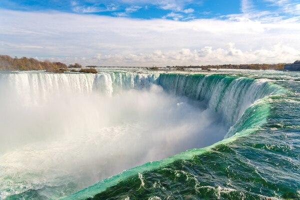 Uno de los principales atractivos de Canadá son las cataratas del Niágara. Fotografía: Shutterstock