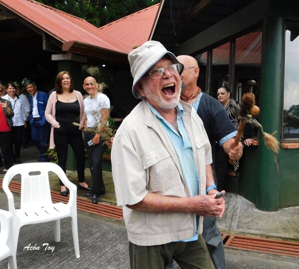 Como una persona de muy buen humor y siempre sonriente, así recuerdan familiares y amigos cercanos al arquitecto Jorge Bertheau. Foto: Cortesía Colegio de Arquitectos.