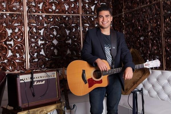 Más trabajo. Ricardo Sossa espera presentar un nuevo sencillo en agosto.   JUAN CARLOS MORA PARA LN