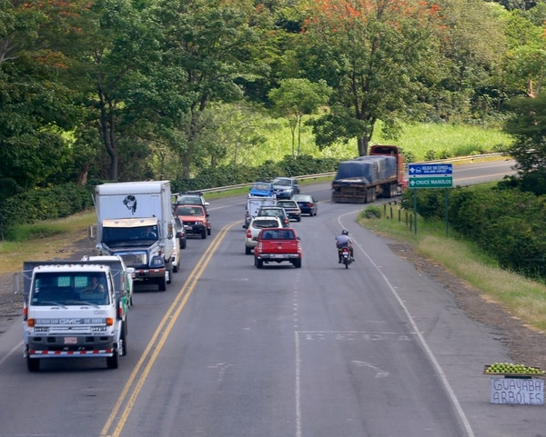 El intento por ampliar este tramo de la ruta 1 lleva ya más de una década, sin que se haya concretado ninguna obra. | RAFAEL PACHECO