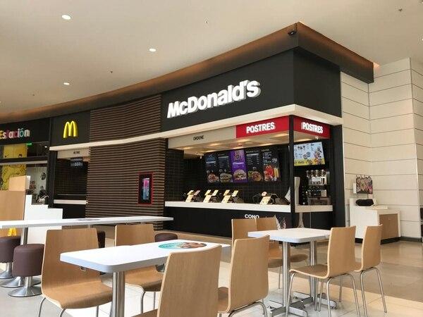 McDonald's abrió esta semana su local en Oxígeno Human Playground y anunció aperturas en Limón y Concepción de Tres Ríos. Foto: McDonald's para LN