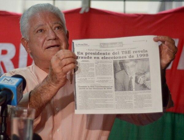 Corrales mantiene su aspiración presidencial. | ,MARIANDREA GARCÍA