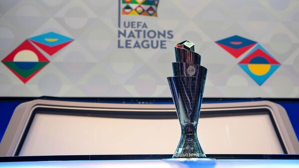 Trofeo de la UEFA Nations League. Foto: AFP