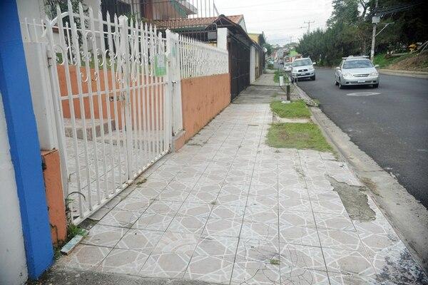 Frente a la casa de la víctima ocurrió el homicidio. | ARCHIVO