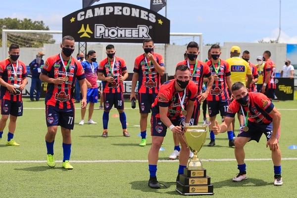 Cariari fue el último campeón de Linafa y ascendido a la Liga de Ascenso. Fotografía: Rafael Pacheco