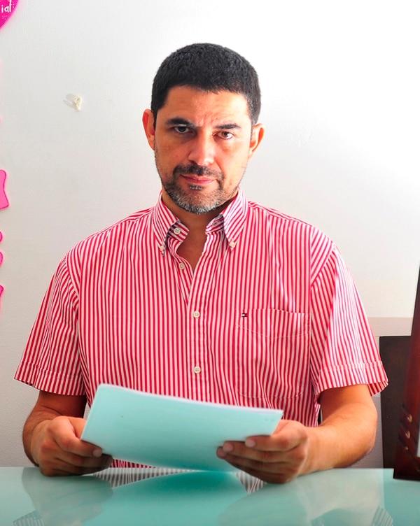 El 19 de diciembre, el empresario Roy Valverde cumplirá un año de no ver a su única hija, de 9 años. | RAFAEL PACHECO