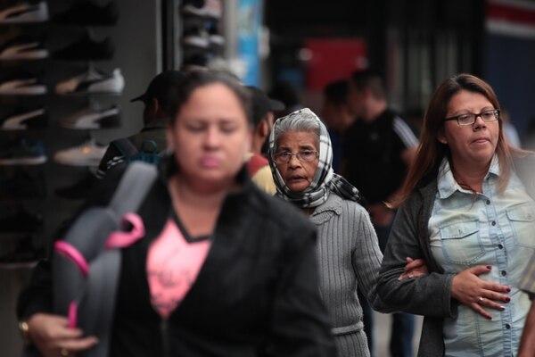 10/12/2018 San José. Fuerte vientos azotan la capital. Fotografías: Graciela Solis