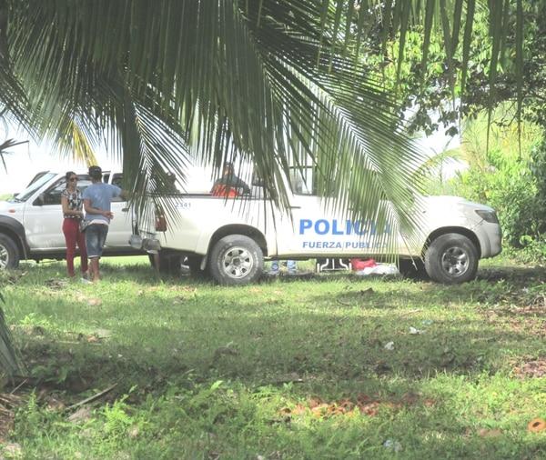 Los agentes del OIJ levantaron el cuerpo a eso de 3:30 p. m. de este miércoles.