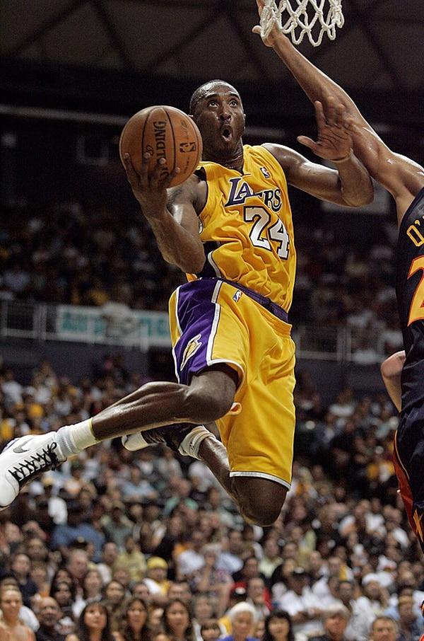 Kobe Bryan lleva 17 años con los Lakers.