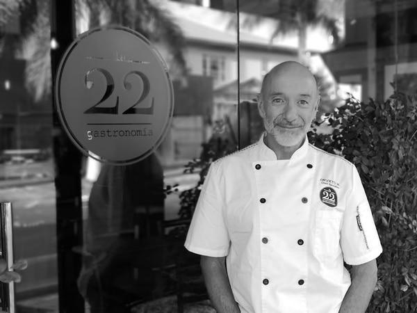 Chef Orvieto. Foto: Osvaldo Calderón