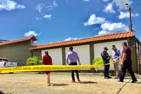 Un hombre murió este martes luego de una balacera en Limón. Foto: Raúl Cascante, corresponsa GN