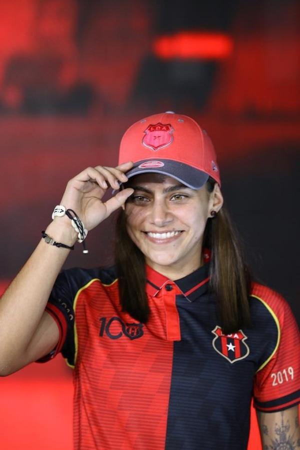 Raquel Chacón considera que Alajuelense Codea tiene equipo para aspirar a ser campeón en diciembre. Fotografía: Prensa Alajuelense