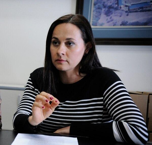 Diana Murillo, Gerenta General INDER. Foto: Rafael Murillo