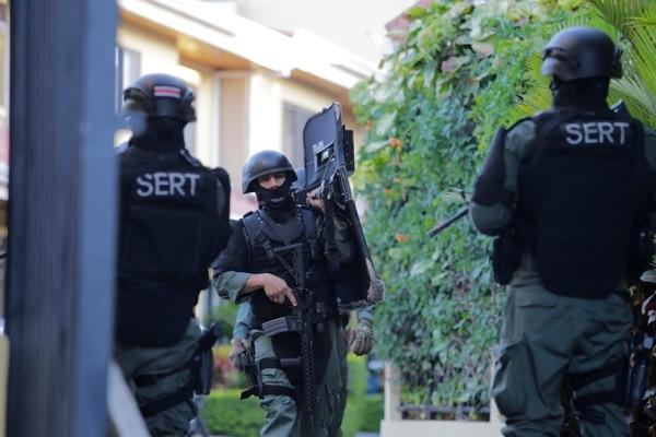 Uno de los líderes de la banda fue capturado dentro de una vivienda en La Uruca, San José.
